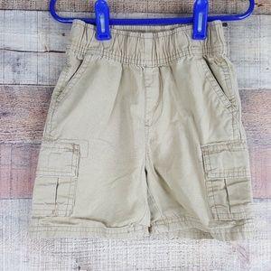 The Children's Place (2) Shorts Khaki Toddler Boy'